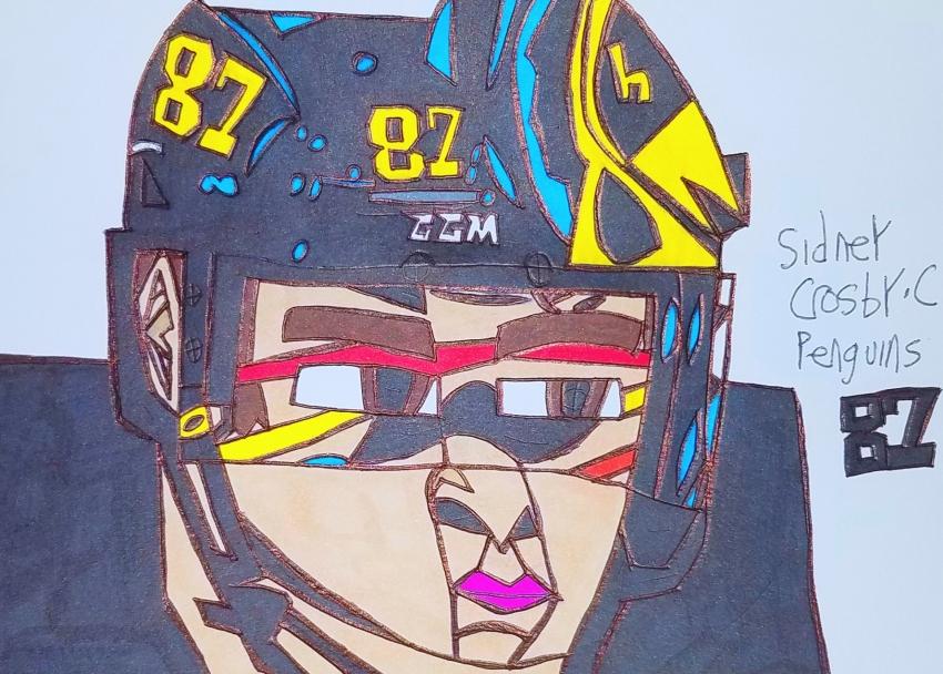 Sidney Crosby by armattock